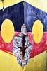 Aboriginal flag. (Ian Ramsay Photographics) Tags: gardenisland sydney newsouthwales australia tentembassy established aboriginal 1993nativetitleact flag