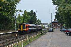158866 - Brundall - 2J63 (richa20002) Tags: class 158 diesel multiple unit dmu aga abellio greater anglia emt east midlands trains wherry lines ga