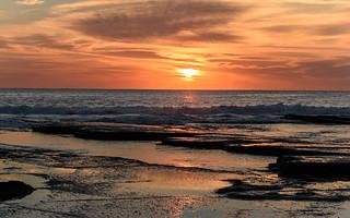 Rocky Sunrise Seascape