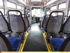 Metropolitan Transportation Services 60105 Interior (TheTransitCamera) Tags: metropolitantransportationservices gillig lowfloor29 lowfloor mts60105 saintpaul ride interior seats minnesota