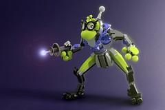 Space Hopper (randomvector1) Tags: moc treefrog hopper space frog lego