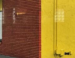 Windows (LarryJay99 ) Tags: reflections walls urban florida redbrick lines windows bricks color orlando yellow mortor ligha