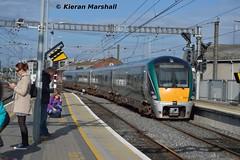 22020 arrives at Connolly, 30/8/17 (hurricanemk1c) Tags: railways railway train trains irish rail irishrail iarnród éireann iarnródéireann 2017 dublin connolly 22000 rotem icr rok 4pce 22020 1738connollywexford