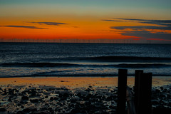 Sunrise Kilnsea (dzubby890) Tags: sun sunrise dawn eastyorkshire eastcoast beach sea stones sky morning cloud clouds waves