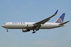 United Airlines Boeing 767-322(ER)(WL) N660UA (EK056) Tags: united airlines boeing 767322erwl n660ua london heathrow airport