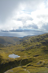 DSC_9369 (nic0704) Tags: scotland hiking walking climbing summit highlands outdoor landscape hill mountain foothill peak mountainside cairn munro mountains skye isle island cuilin cuillin blaven blà bheinn red black elgol