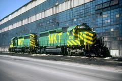 MKT SD40-2 636 (Chuck Zeiler) Tags: mkt sd402 636 railroad emd locomotive bensenville chuckzeiler chz