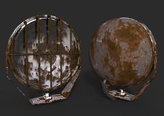 Mold / Rust Light (oguzhan06) Tags: kir pas lamba ışık lights