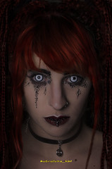 DSC_7948 (kbl phtogaphy) Tags: estudio fotoestudio nikon nikon5100 fantasia hallowen maquillaje maquillajefantasia miedo caracterización