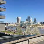 The City of London and the Thames from Tower Bridge Road thumbnail