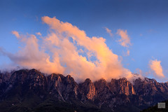 Borgo Valsugana, 2017 (GIALLO1963) Tags: cloudy clouds sunset wheather alps unescoheritage landscapes mountains dolomiten dolomites dolomiti borgovalsugana trentino italy europe