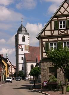 Waldenburg/Hohenlohe - St.Ägidien-Kirche  75410/8858