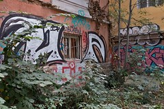 Graffiti, Sofia, Bulgaria (chrisjohnbeckett) Tags: graffiti sofia bulgaria street urban architecture building tag tagging chrisbeckett fujifilmx100f decay decline expression colour couleur color city photojournalism global documentary
