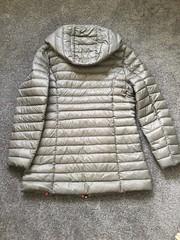 JOTT - donwcoat back large (ShinyNylonFan) Tags: jott wintercoat downcoat silver hood