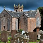 Auchinleck, parish church and cemetery thumbnail