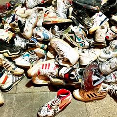 Basket Shoes (Francesca Sa) Tags: basketshoes sneakers streetstyle streetartculture vintageshoes anni80 scarpe shoes