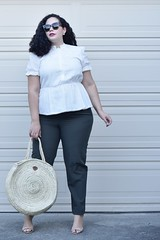 THESE UPDATED CLASSICS ARE PERFECT FOR THE OFFICE (GirlWithCurves) Tags: workwear officewear summerstyle girlwithcurves plussizefashion plussizeblog curlyhair