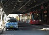 Sydney Light Rail - LRV2120 and LRV2123 meet at the Railway Colonnade - 1 (john cowper) Tags: sydneylightrail lrv2123 lrv2120 railwaycolonnade centralrailwaystation terminus caf urbos3 transportfornsw tramway trams tramstop l1 sydney newsouthwales