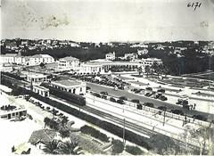 Vista parcial do Estoril e do Monte Estoril (Arquivo Histórico Municipal de Cascais) Tags: arquivohistóricomunicipaldecascais caminhodeferro monteestoril