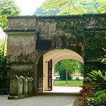 Gate of Fort Canning in Singapore thumbnail
