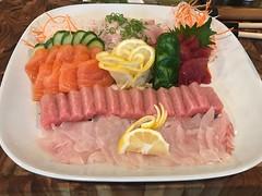 (Mr_Kram) Tags: fish sashimi tuna maguro bluefin ootoro toro hamachi yellowtail salmon shake madai redsnapper food foodart