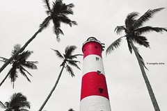 Kovalam Beach Lighthouse (Sougata2013) Tags: kovalambeach lighthouse red lighthousebeach trivandrum kerala india southindia
