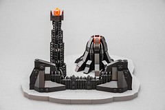 Mordor (Milan Sekiz) Tags: lego mordor lord rings microscale small black sauron doom gate