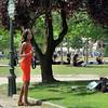 Gazelle or photographer ? (pivapao's citylife flavors) Tags: paris france people girl beauties champdemars photographer