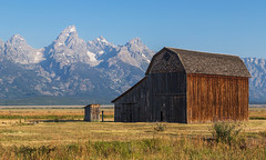 Thomas Murphy Barn (Angie Vogel Nature Photography) Tags: barn mormonrow grandtetons nature rural