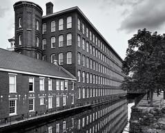 Lowell cotton mill (Tim Ravenscroft) Tags: mill cotton building architecture lowell massachusetts monochrome blackandwhite blackwhite hasselblad hasselbladx1d x1d