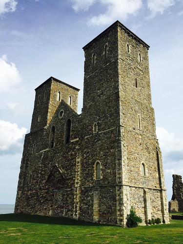 Reculver, Kent, United Kingdom.