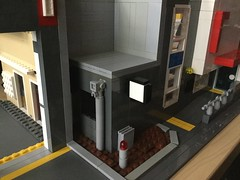 Teaser- CFA Station WIP (Lonnie.96) Tags: cfa fire emergency station moc real building modular city town country authority firefighter australia victoria 2018 custom structure shed vehicle truck current recent modern new work progress