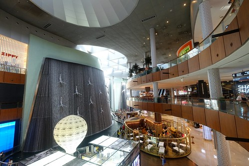 The Divers Fountain, Dubai Mall