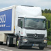 Mercedes Actros Tesco YM66 PGY