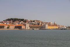 View of Praça do Comércio from the ferry