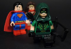 Sick of You Boy and Girl Scouts (MrKjito) Tags: lego minifig green arrow dc comics comic rebirth outlaw super hero oliver queen man wonder woman justice league