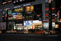 Gangnam (gwnam.2008) Tags: city cityscape citylife citylandscape citystreet cityroad cityinside urban urbanscape urbanscenery urbanlife urbanlandscape urbanstreet night nightscape nighttime gangnam seoul korea southkorea 강남 겨울 서울