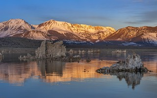 *Mono Lake @ sunrise reflections*