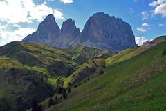 Afternoon at the Sassolungo (Atilla2008) Tags: dolomiti sassolungo dolomites italy italia mountains wow d90 nikon alto adige sudtirol