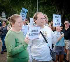 2017.08.13 Charlottesville Candlelight Vigil, Washington, DC USA 8048