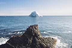 Kuannit - Qeqertarsuaq (dataichi) Tags: greenland kuannit disko columnar basalt basaltic geology rocks cliff travel tourism destination nature landscape outdoors north arctic ice iceberg shore coast island