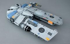 "YT-1450 Light Freighter - ""The Nadir"" (O0ger) Tags: moc lego star wars rebrick corellian yt freighter"