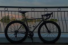 _DSF3889 (zol m) Tags: roadbike bespoke custom titanium klickr sunset ilre portdickson avillionadmiralcove duraace shimano fizik deda lightweightwheels legendbybertoletti fujinon xpro2 fujifilm zolsimpression zolmuhd