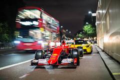 London traffic. (The TFJJ) Tags: laferrariaperta laferrari ferrari v12 f1 car f2005 f2001 v8 v10 londonnight london londonsupercars