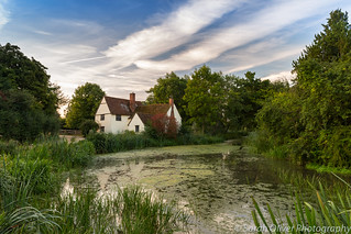 Early morning at Willy Lott's Cottage