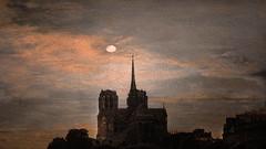 Notre Dame (jeanfenechpictures) Tags: notredame eglise church cathedral cathédrale ciel sky soleil sun nuages peinture paint impressionnisme impressionism paris france mer sea ombrechinoise coucherdesoleil sunset