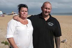 Jason & Dawn Parrott (cementley) Tags: england uk unitedkingdom heinrichböllfoundation hbf transatlanticmediafellowship photojournalism englishchannel fishing fishermen fisherman harbor ocean seaside sea kent thanet portraits