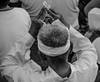 Pray (Vickyeastwood) Tags: bali darwincameraclub indonesia nikond7000 nikon d7000 d7k photographytour tour photography photographer beach beachceremony waterceremony sesehbeach