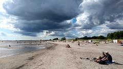 LA PLAGE DE PÄRNU (marsupilami92) Tags: paysbaltes jettours estonie eesti pärnu baltique nuage