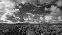 Lyseheiane Black & White (EspenSi) Tags: skyer landscape fjell landskap mountains lyseheiane weather clouds norway scenery skies norge svart sky vær hvitt rogaland black white
